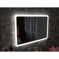 Зеркало с интерьерной подсветкой для ванной комнаты Катани 100х80 см (1000х800 мм)