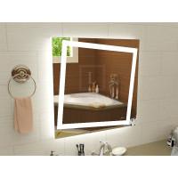 Зеркало с подсветкой для ванной комнаты Торино 50x50 см