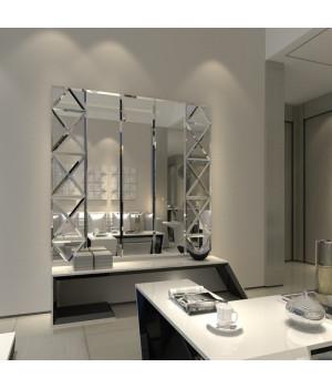 Зеркальное панно на кухню в стиле модерн