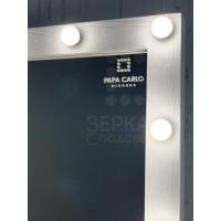 Гримерное зеркало 100х100 см с подсветкой 13 ламп