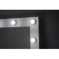 Зеркало большое напольное с лампочками из дсп 160х80