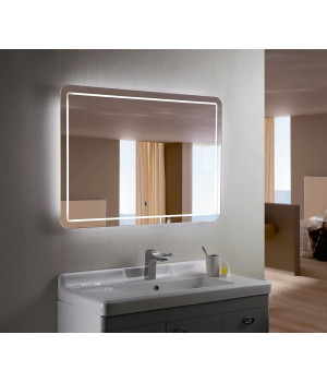 Зеркало с подсветкой для ванной комнаты Анкона 140-90 см (1400х900 мм)