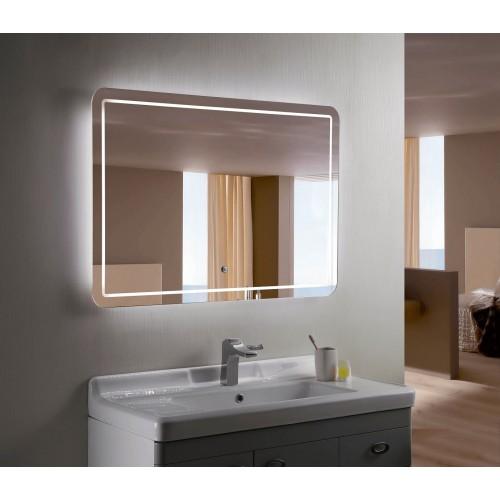 Зеркало с подсветкой для ванной комнаты Анкона
