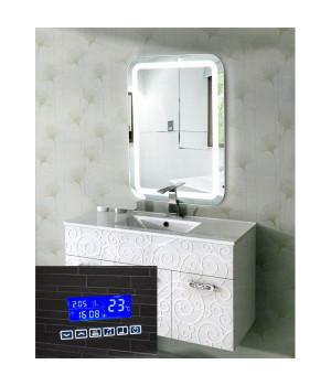 Зеркало с подсветкой и блютузом в ванную комнату Эстер