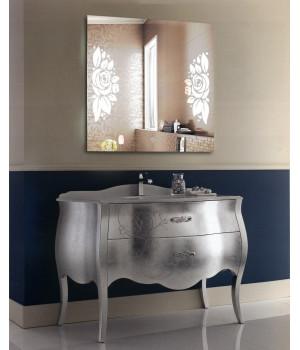 Зеркало для ванной с LED подсветкой София 1000x1000 мм