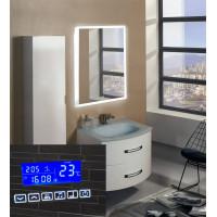 Зеркало в ванную с подсветкой Моретто с музыкой 60х80 (600х800)